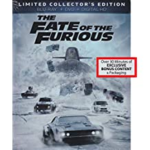 The Fate of the Furious - Limited Collector's Edition [Blu-ray + DVD + Digital]