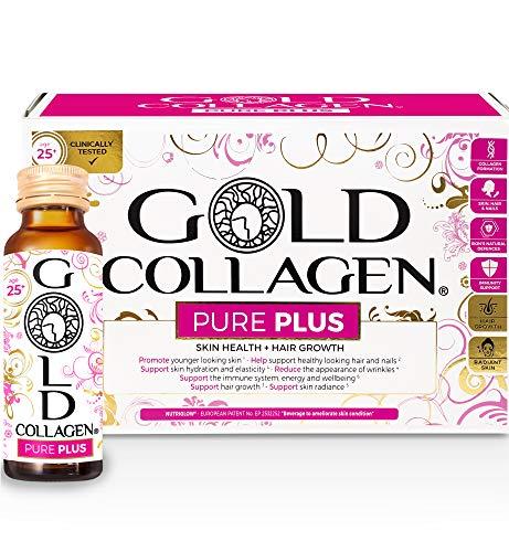 Gold Collagen Pure Plus | The Original #1 Hydrolysed Marine Collagen Supplement | Rocket for Hair Growth & L Arginine…