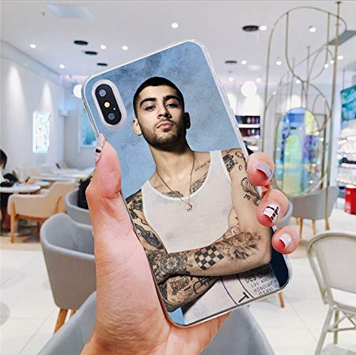 Inspired by Zayn Malik Phone Case Compatible With Iphone 7 XR 6s Plus 6 X 8 9 Cases XS Max Clear Iphones Cases TPU Merchandise Signed Mind Forever Forever 33027091183