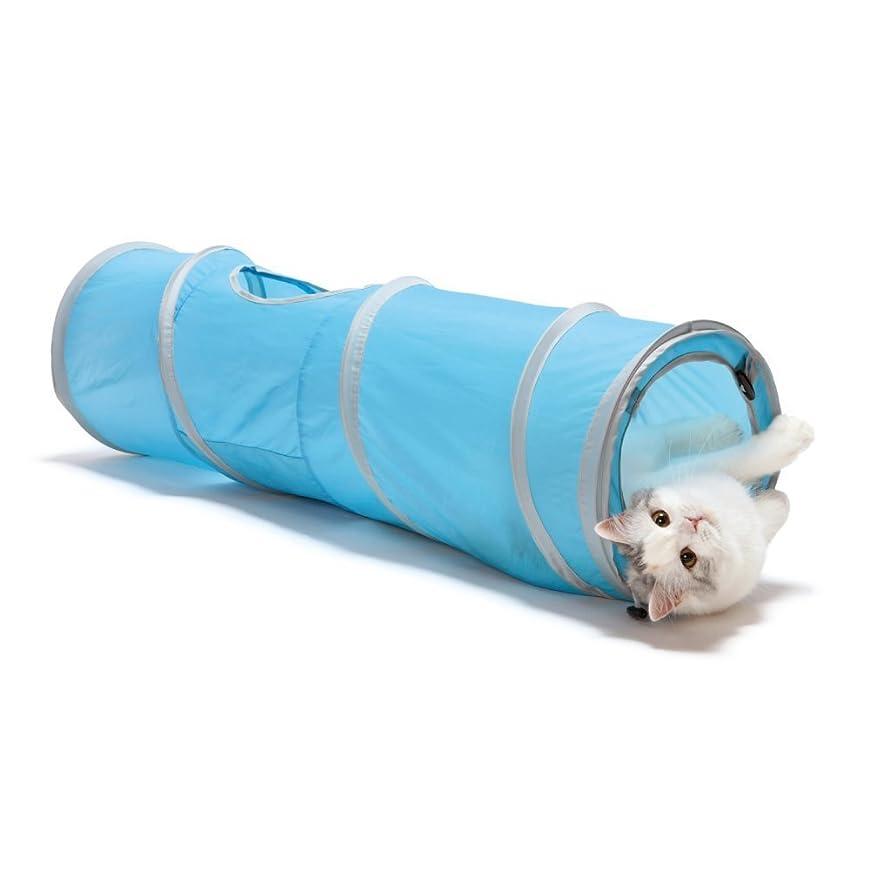バトルマウント最少猫の友社 にゃんドーナツ グレー 洗えるフエルト製 ドーム型 猫用ベッド【国内正規品】