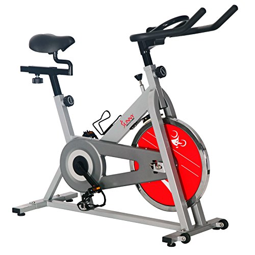 Star Trac Nxt - Sunny Health & Fitness SF-B1001S Indoor Cycling Bike, Silver
