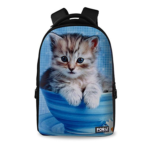 2c9a1aadb6f7 FOR U DESIGNS Unisex Cute Girls Boys College School Laptop Backpack ...
