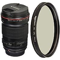 Canon 135mm f/2L USM Lens for SLR Cameras with Polarizer Lens