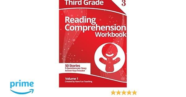 Third Grade Reading Comprehension Workbook: Volume 1: Have Fun ...