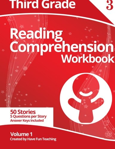Third Grade Reading Comprehension Workbook: Volume 1