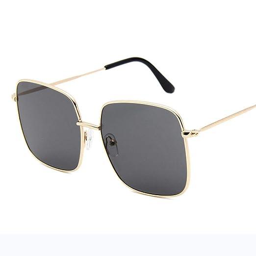Yangjing-hl Gafas de Sol cuadradas Diseñador de la Marca ...