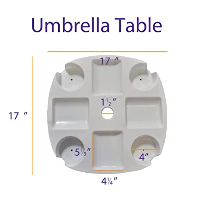 Impact Canopy Umbrella Table Accessory : Garden & Outdoor