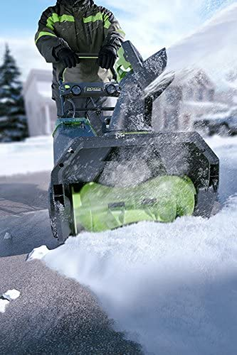 GreenWorks Pro 80V 20-Inch Cordless Snow Thrower, Battery Not Included, 2601302