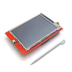 "HiLetgo 2.4"" ILI9341 240X320 TFT LCD Display with Touch Panel LCD for Arduino UNO MEGA2560"