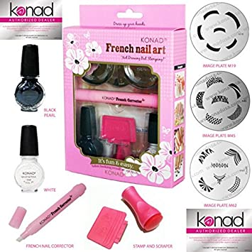 Amazon Konad Stamping Nail Art French F Kit Pick Your Plates