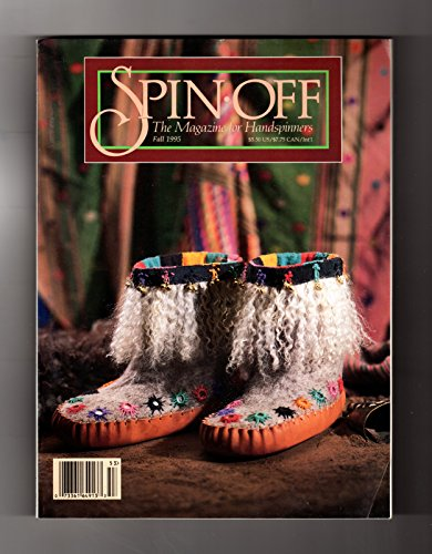 Handspun Sock Yarn - Spin-Off - The Magazine for Handspinners: Fall, 1995. Merino Scarf; Margaret Ralph Johnson Piece; Electric Spinner; Sue's Shawl; Knitting-Handspun Yarn; Fiber Basics; Holbrook Socks; Corey's Blanket