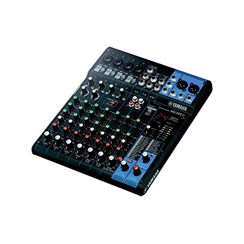 Yamaha MG10XU 10 Input Stereo Mixer (with Compression, Effects, and USB) w/ Cables by Yamaha