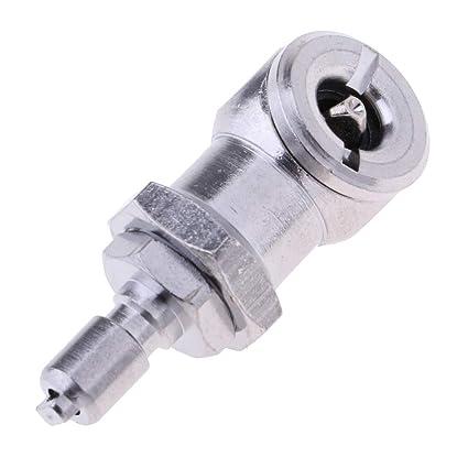 F Fityle Adaptador de Válvula Schrader de Compresor de Aire para Inflarlas Convenientemente