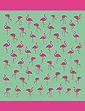 Multi Flamingos Brazilian Velour Beach Towel 58x74 Inches