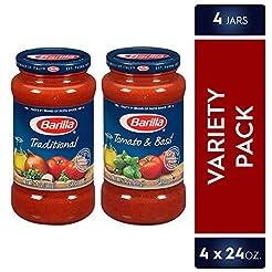 Barilla Pasta Sauce Variety Pack, 24 Oun...