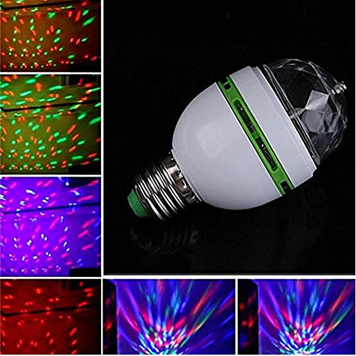 Crystal Ball Effect Light E27 Led