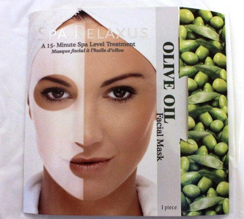 (Olive Oil Facial Mask (Package of 2), Spa Level)