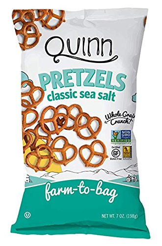 Cheap Quinn Snacks Quinn Snacks Classic Sea Salt Pretzel Twists, 8 Count