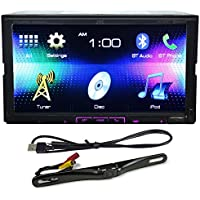 New JVC KW-V41BT Bluetooth 7 DVD/Android/iPhone Receiver+KS-U62 Cable+Camera