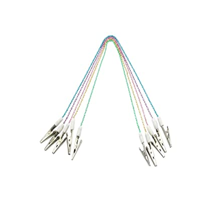 """50PC Plastic Covered 12/"""" Stainless Steel Wire Lanyard Secure Cable"""