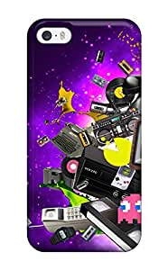 For EOhoiOY1343dswSi Retro Protective Case Cover Skin/iphone 5/5s Case Cover(3D PC Soft Case)
