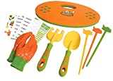 Curious Gardener 8 Piece Garden Set for Kids