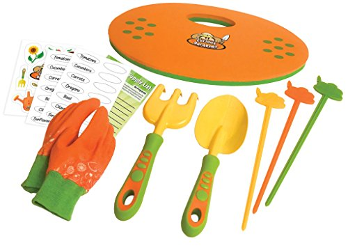 Curious Gardener 8 Piece Garden Set for Kids by Curious Gardener