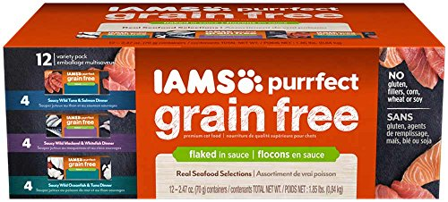 Iams Grain Free Cat Food Canned
