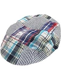 Infant & Toddler Boys Patchwork Plaid Newsboy Cap Hat