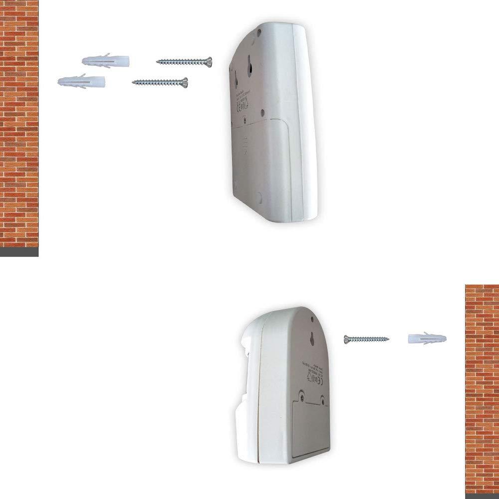 FISHTEC ® Detector de presencia: alarma o timbre inalámbricos: Amazon.es: Bricolaje y herramientas