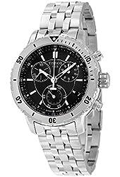 Tissot PRS200 Black Dial SS Chronograph Quartz Men's Watch T0674171105100