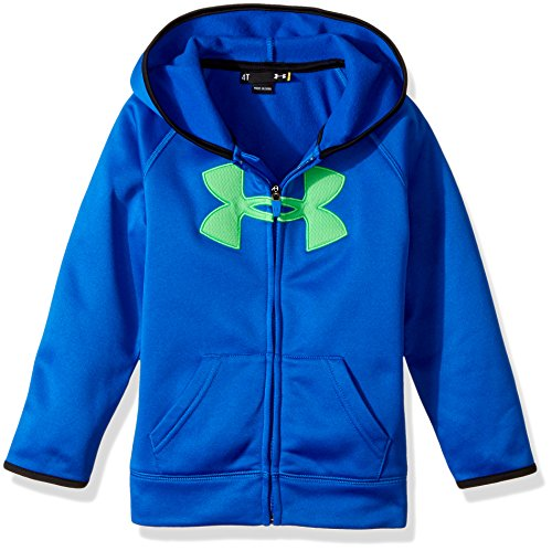 Blue Big Logo Hoodie - Under Armour Little Boys' Big Logo Fleece Hoody, Ultra Blue, 6