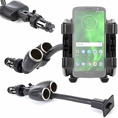 DURAGADGET Soporte De Coche Flexible para Smartphone Motorola Moto ...