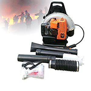ONEPACK Gas-Powered leaf blower, 2.7KW 65CC Gas Leaf Grass Backpack Blower Garden Lawn Yard Outdoor Sweeper