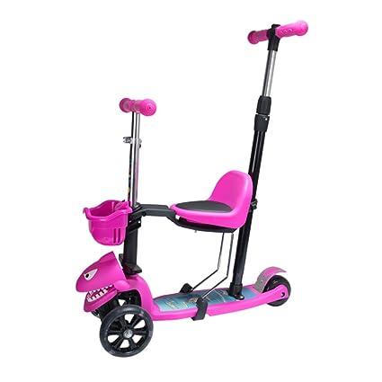 El carro de equilibrio para niños de tres ruedas, la altura ...