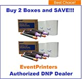 "Photo : TWO BOXES of DNP DS40 4"" x 6"" Dyesub Printer Paper, Paper and Ribbon Media Kit (Total 1600 prints). Comes with FREE SAMPLES of our best selling photo folders (Eventprinters brand)."