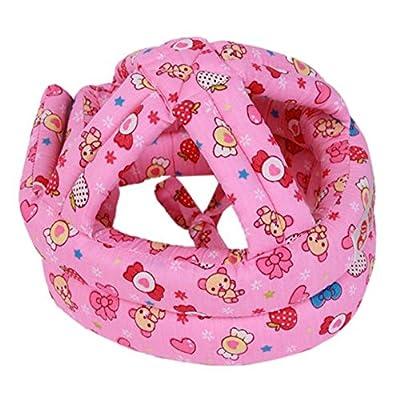 RANRANHONME Safety Helmet Infant Toddler No Bumps Safety Helmet Head Cushion Bumper Bonnet Protection Adjustable