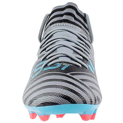 new product f1ae2 63b4c adidas Men s Nemeziz Messi 17.3 FG Soccer Shoe, Grey White core Black,