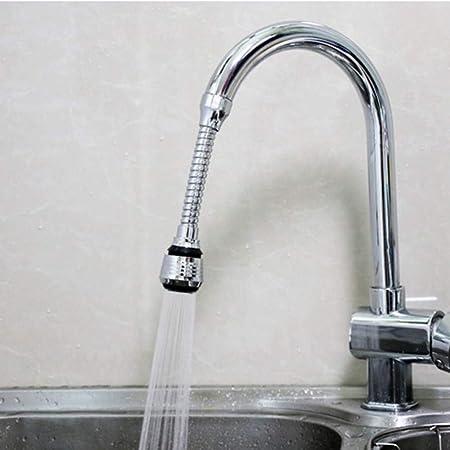360 /° Giratorio Agua Ahorro Grifo Filtro de Ahorro de Agua de Grifo para Cocina//Ba/ño