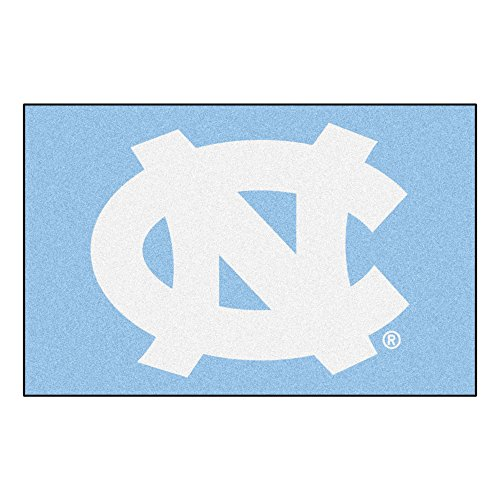 FANMATS NCAA UNC University of North Carolina - Chapel Hill Tar Heels Nylon Face Starter Rug