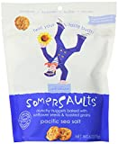 Somersaults Nut Free Crunchy Nuggets, Pacific Sea Salt, 6 Ounce Packages (Pack of 12)