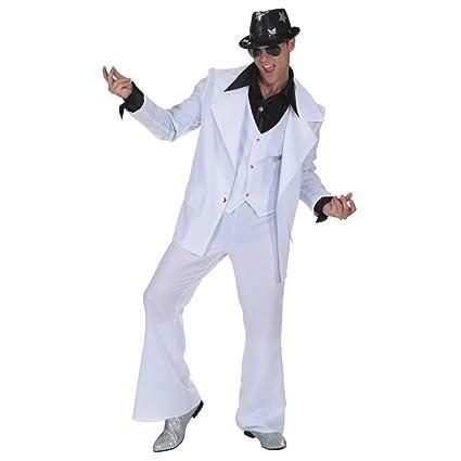 70er años disfraz para hombre blanco Hot Love Partyman disco ...
