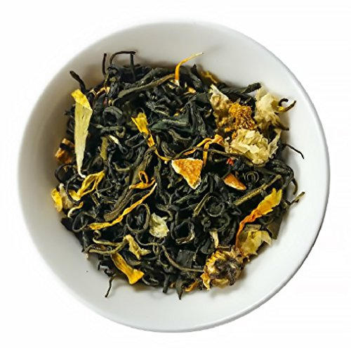 Mahalo Tea Paradise Passion Fruit Green Tea - Loose Leaf Tea - 2oz