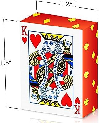 Amazon.com: gamie Mini juego de cartas (paquete de 24 ...