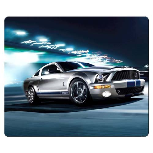 Cheap  30x25cm 12x10inch Game Mousepads rubber cloth unique Designs Premium Ford mustang