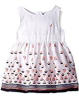 Nautica Girls' Border Sail Print Dress
