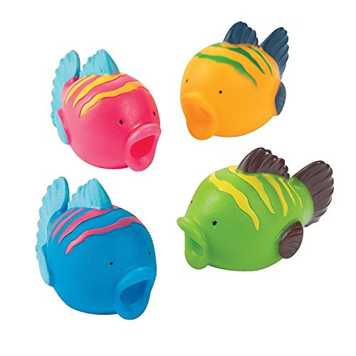Fun Express Fish Squirts (24 - Tropical Gift Fish