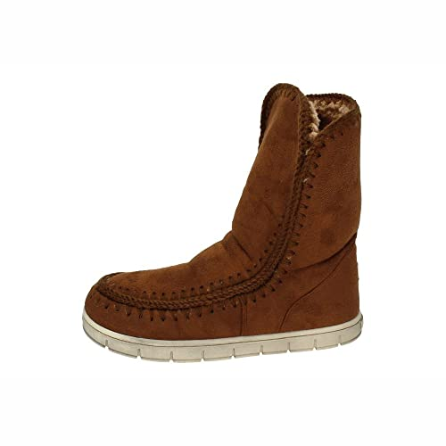 XTI 46351 Botas AUSTRALIANAS Mujer Botines Camel 40: Amazon.es: Zapatos y complementos