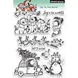 Penny Black 30-143 Joy to The World Clear Stamp