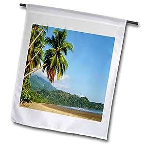 Florene Worlds Exotic Spots - Costa Rica - 12 x 18 inch Garden Flag (fl_54132_1)